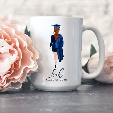 Personalized Graduation Mug - Male or Female Options