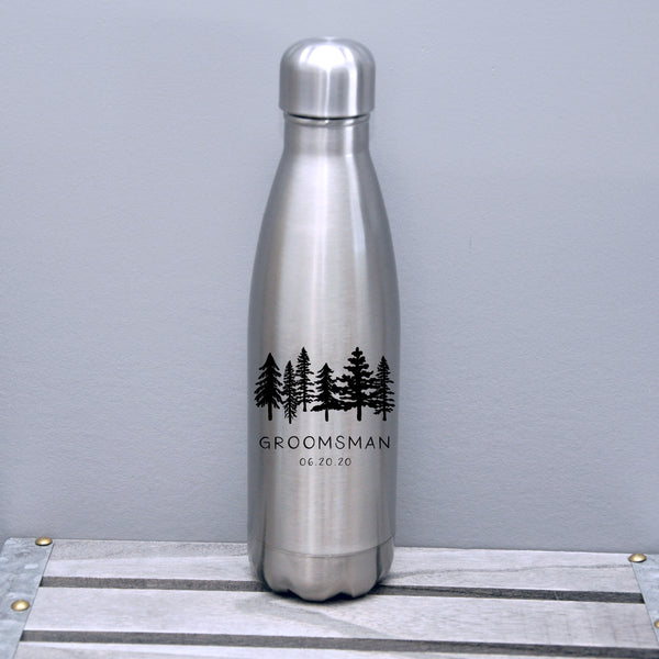 Groomsmen Water Bottle