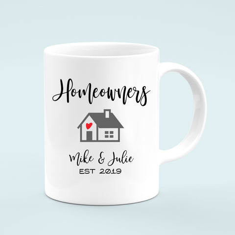 Custom Homeowners Mug