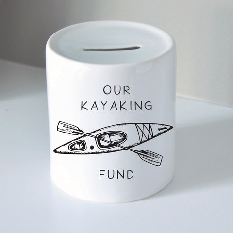 Kayak Fund Coin Bank