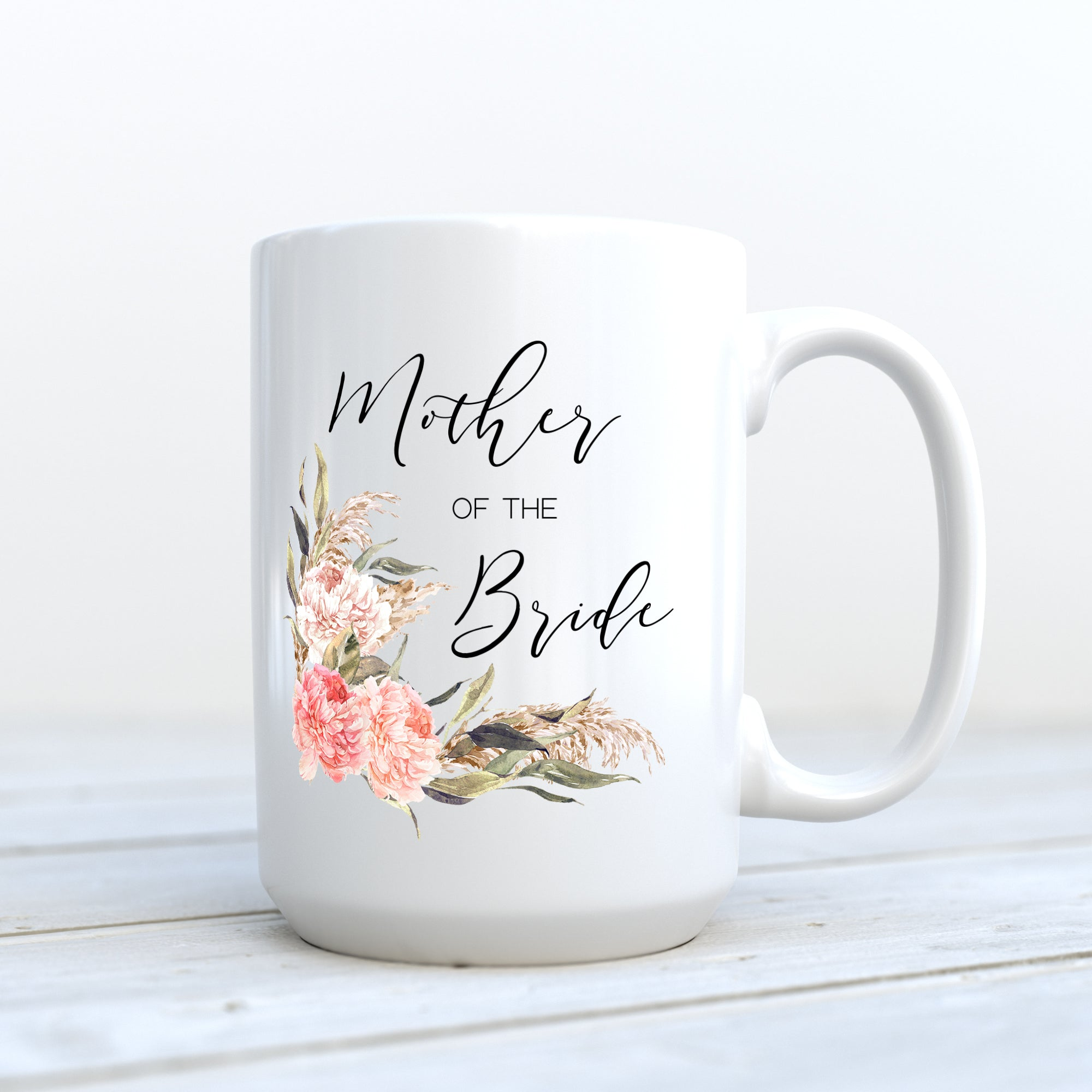 Mother of the Bride Mug - Boho Floral