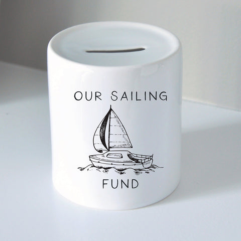 Sailing Fund Coin Bank