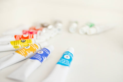 Assorted soft tube bottles