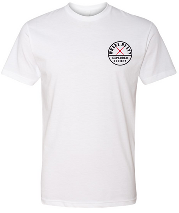 Explorer Society Tee- White