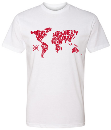 The World Tee- White