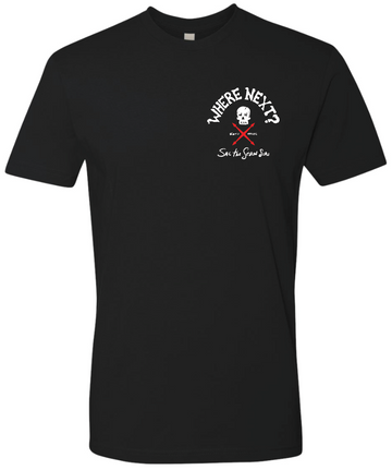 Sail The Seven Seas Tee- Black