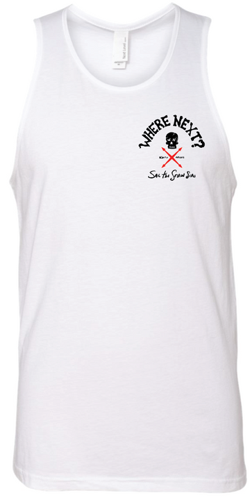 Sail The Seven Seas Tank- White
