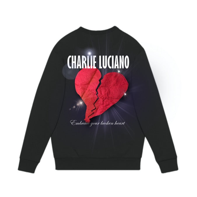 Heartbreak Print Sweater