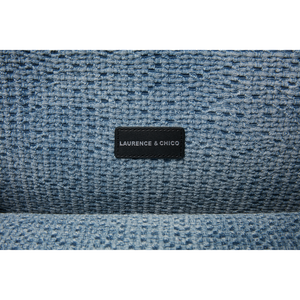 Handwoven Denim Lace Large Tote