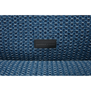 Handwoven Denim Lace Small Square Tote