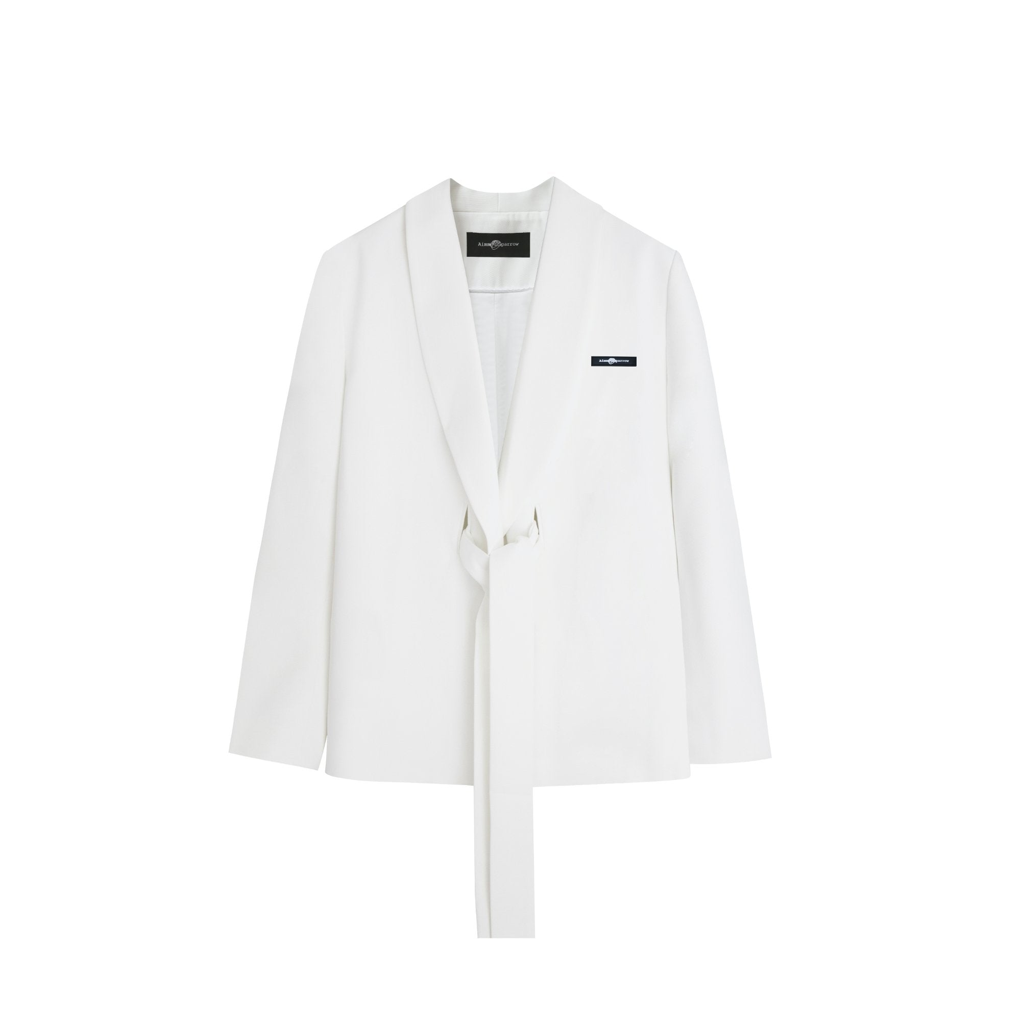 AIMME SPARROW Aimme Sparrow White Logo Suit | MADA IN CHINA