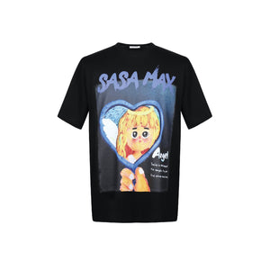 SASA MAX Angel Girl Tee | MADA IN CHINA