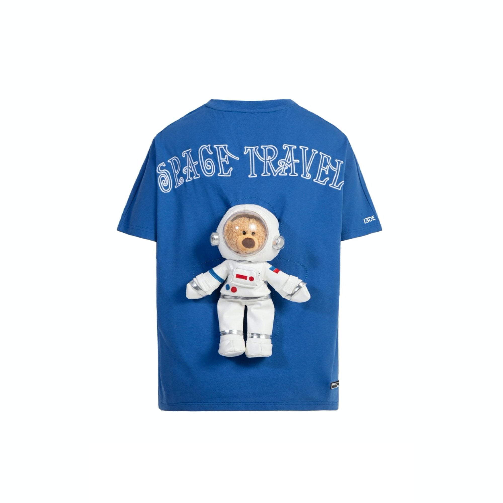 13 DE MARZO Astronaut Teddy Bear Tee Blue | MADA IN CHINA