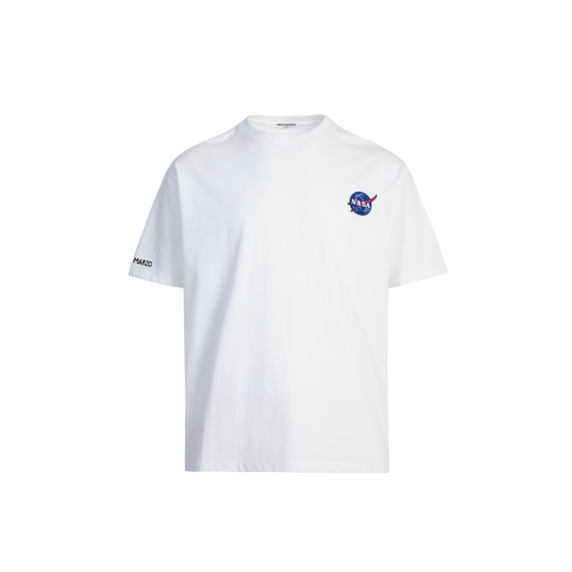 13 DE MARZO Astronaut Teddy Bear Tee White | MADA IN CHINA