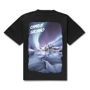 CHARLIE LUCIANO Aurora Print T-shirt | MADA IN CHINA