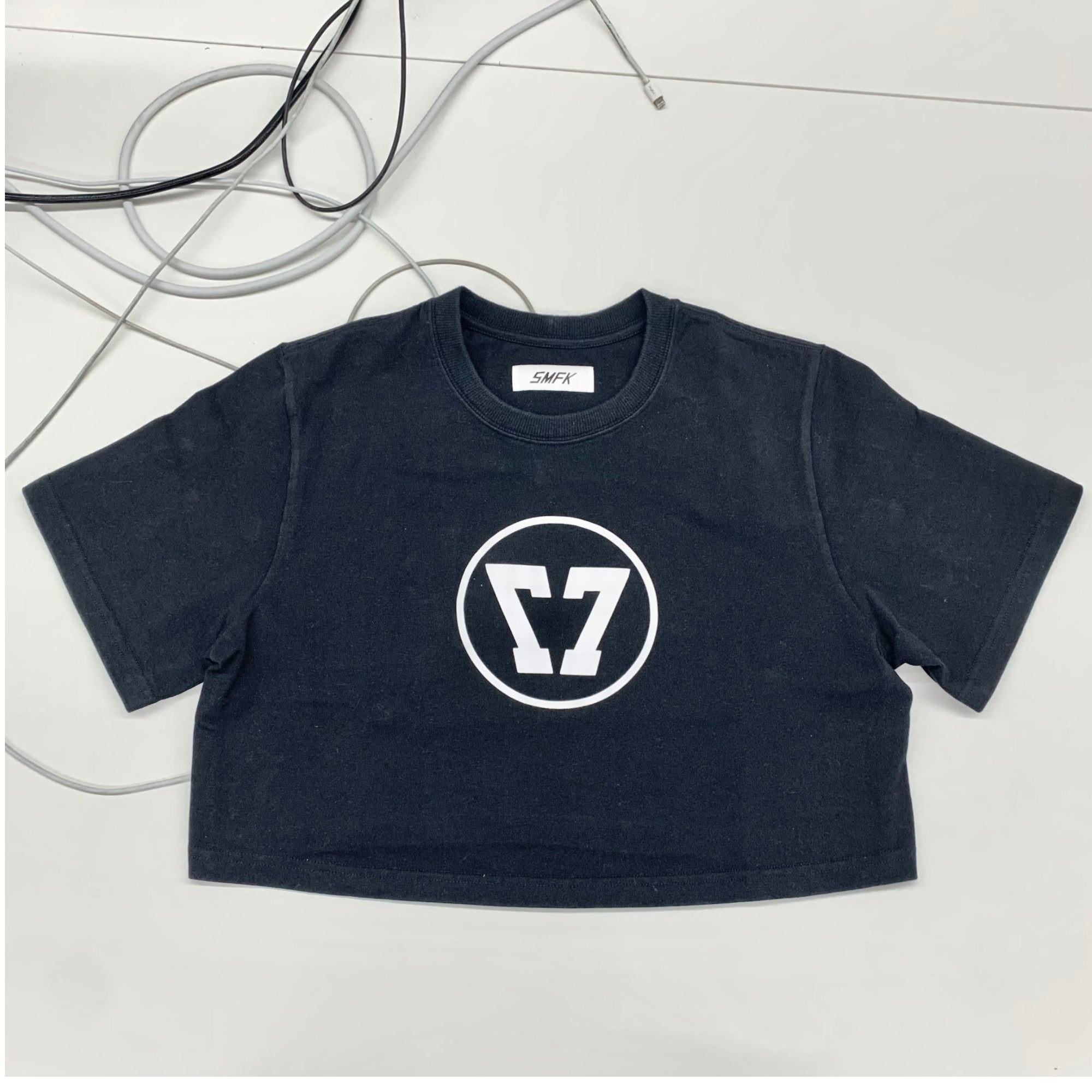 SMFK Baby Vintage Tee Black | MADA IN CHINA