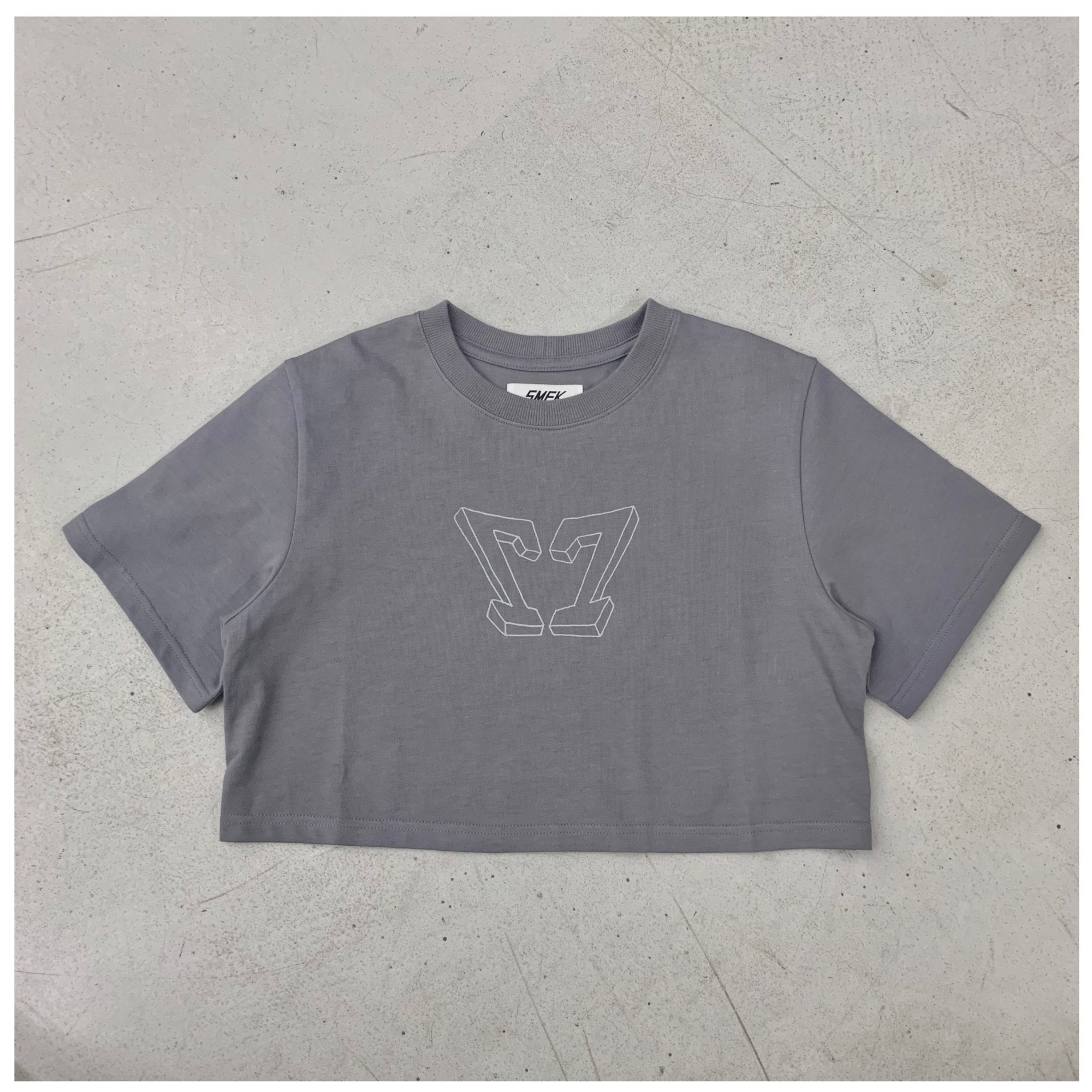 SMFK Baby Vintage Tee Dove | MADA IN CHINA