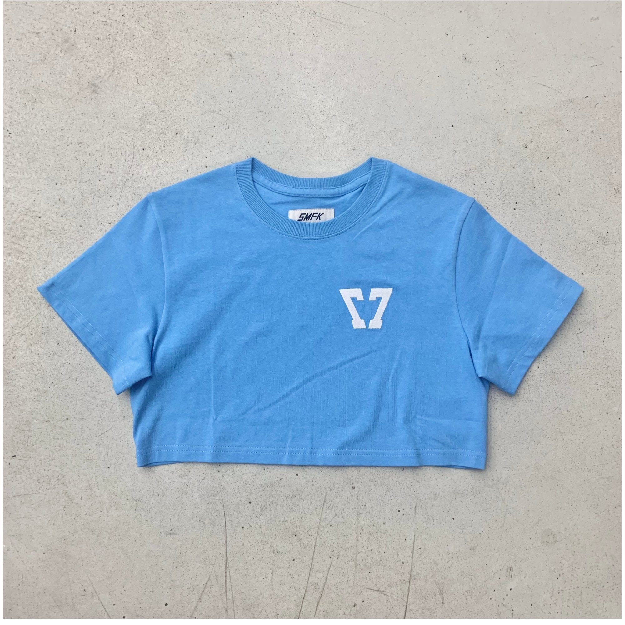 SMFK Baby Vintage Tee Sky Blue | MADA IN CHINA