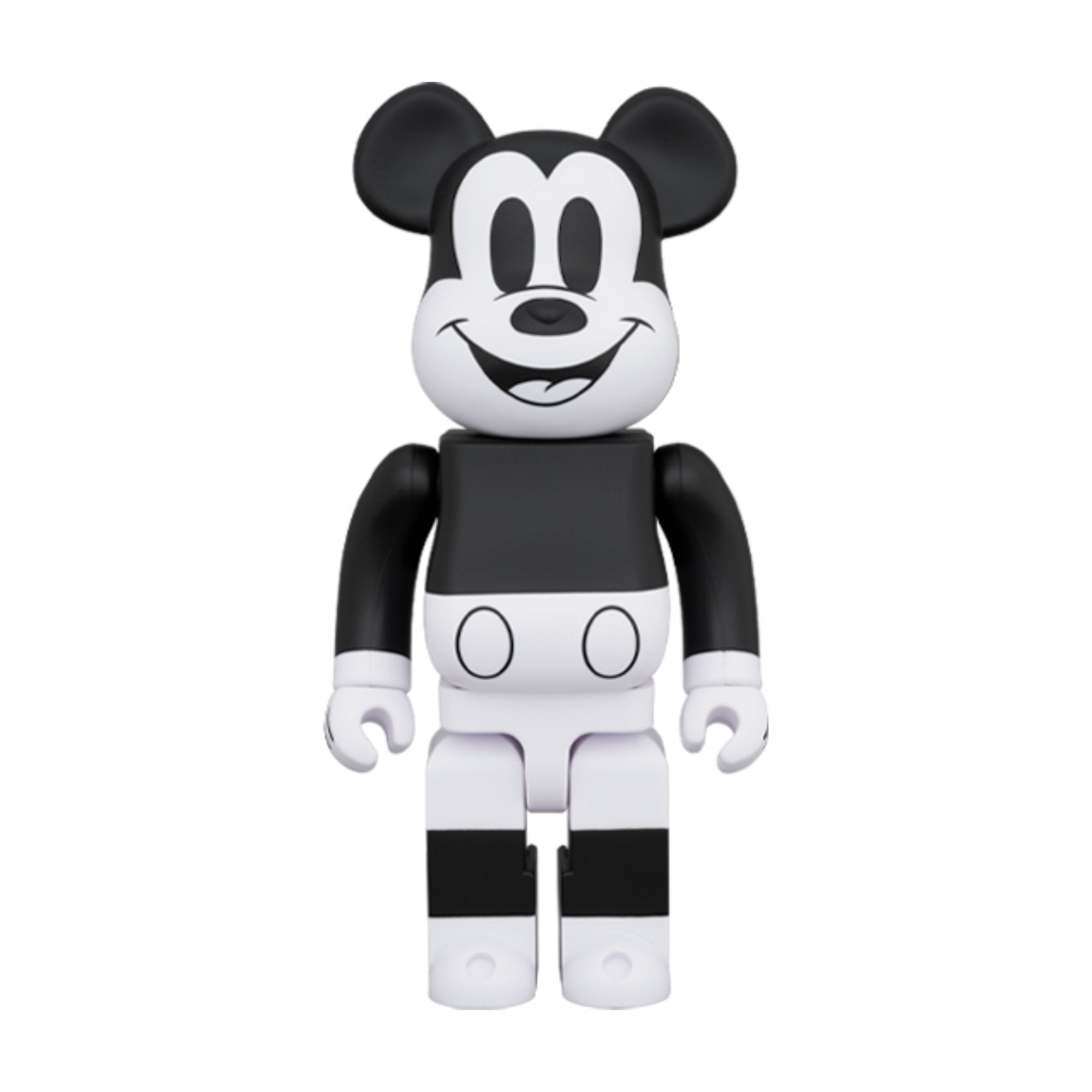 BEARBRICK BE@RBRICK Mickey Mouse (B&W 2020 Ver.) 1000% | MADA IN CHINA