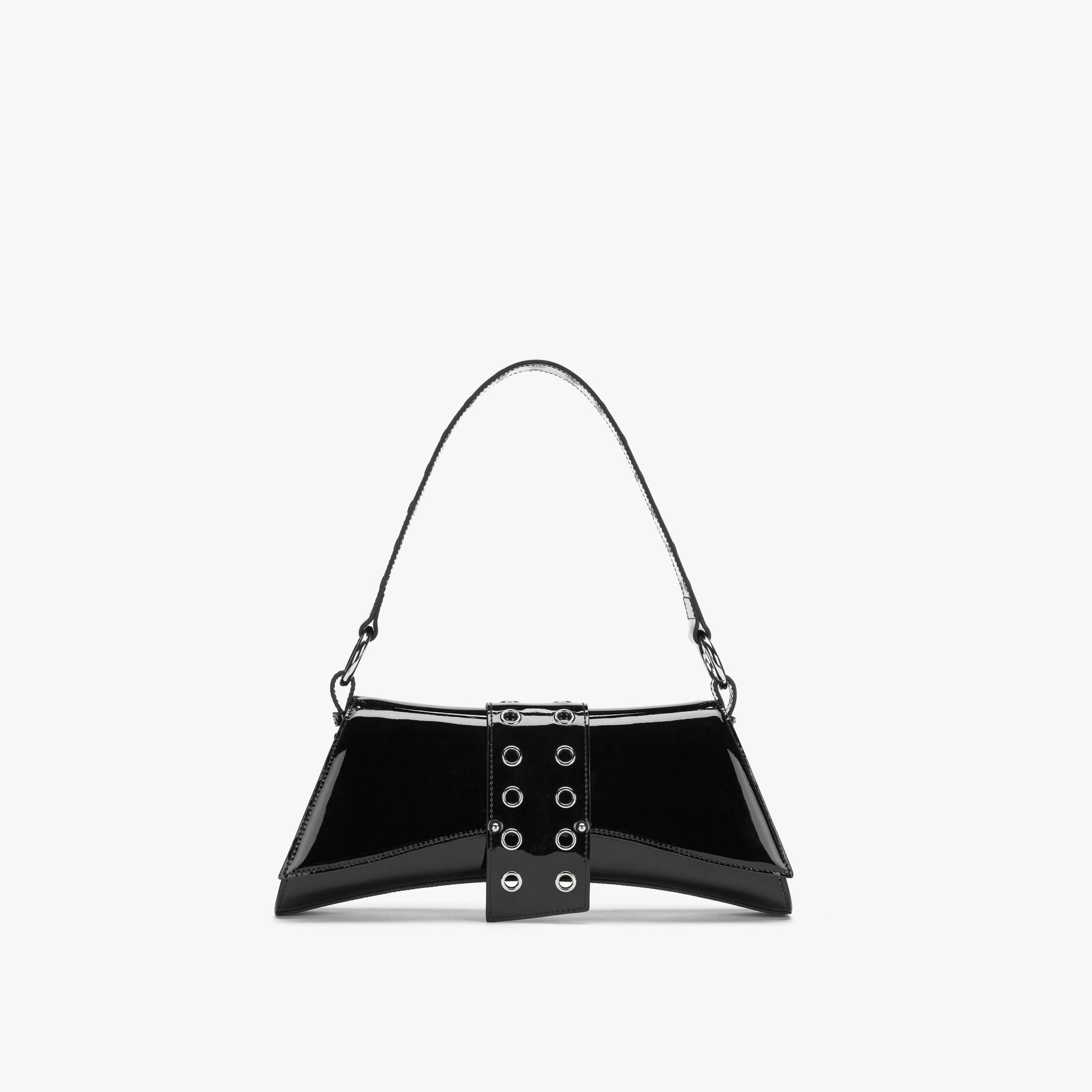 LOST IN ECHO Black Barrett Metail Chain Bag Large | MADA IN CHINA