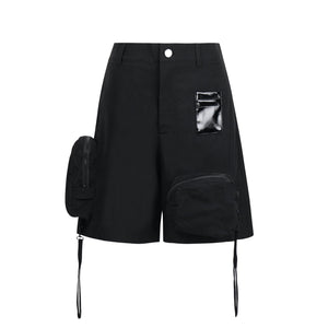ONOFFON Black CardHolder Shorts | MADA IN CHINA