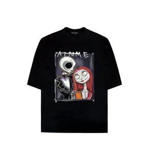 AIMME SPARROW Black 'Ghost Bride' Tee | MADA IN CHINA