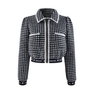 HERLIAN Black Houndstooth Suit | MADA IN CHINA
