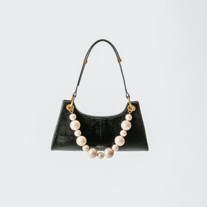 APEDE MOD Black Lizard Froggy Bag | MADA IN CHINA