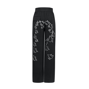 RAINO BARTON Black Pigeon Pants | MADA IN CHINA
