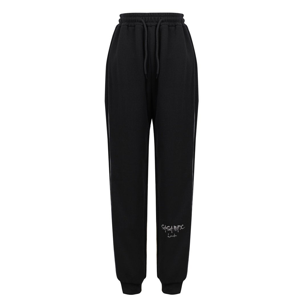 SASA MAX Black Reflective Jogger | MADA IN CHINA