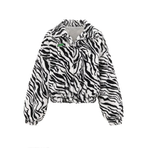 WARM AID Black&White Zebra Bomber | MADA IN CHINA