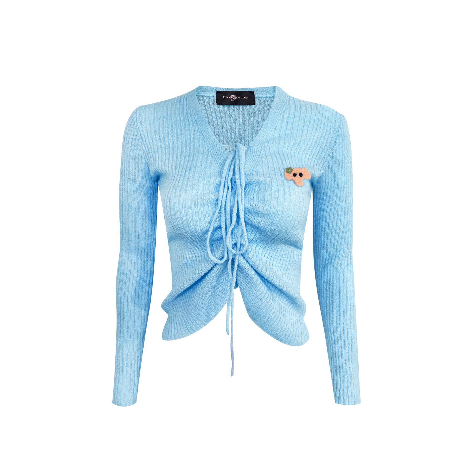 AIMME SPARROW Blue Elephant Logo Sweatshirt | MADA IN CHINA