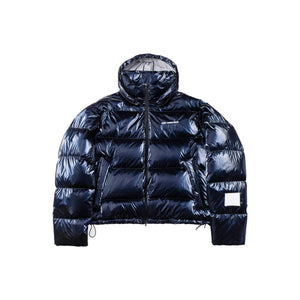 ANN ANDELMAN Blue Puffer Jacket | MADA IN CHINA