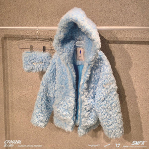 SMFK Blue Snowman Hoodie | MADA IN CHINA
