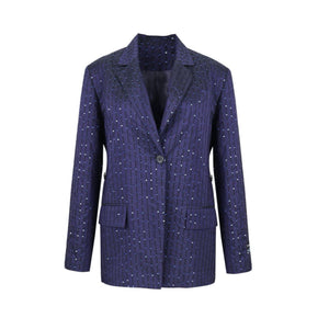 RAINO BARTON Blue Stars Blazer Jacket | MADA IN CHINA