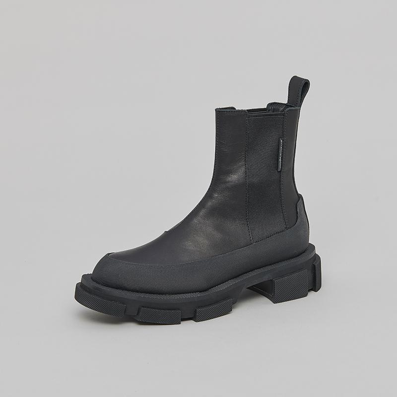 Both Both Gao Black Chelsea Boots | MADA IN CHINA