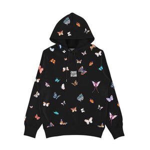 CHARLIE LUCIANO Butterfly Allover Print Hoodie | MADA IN CHINA