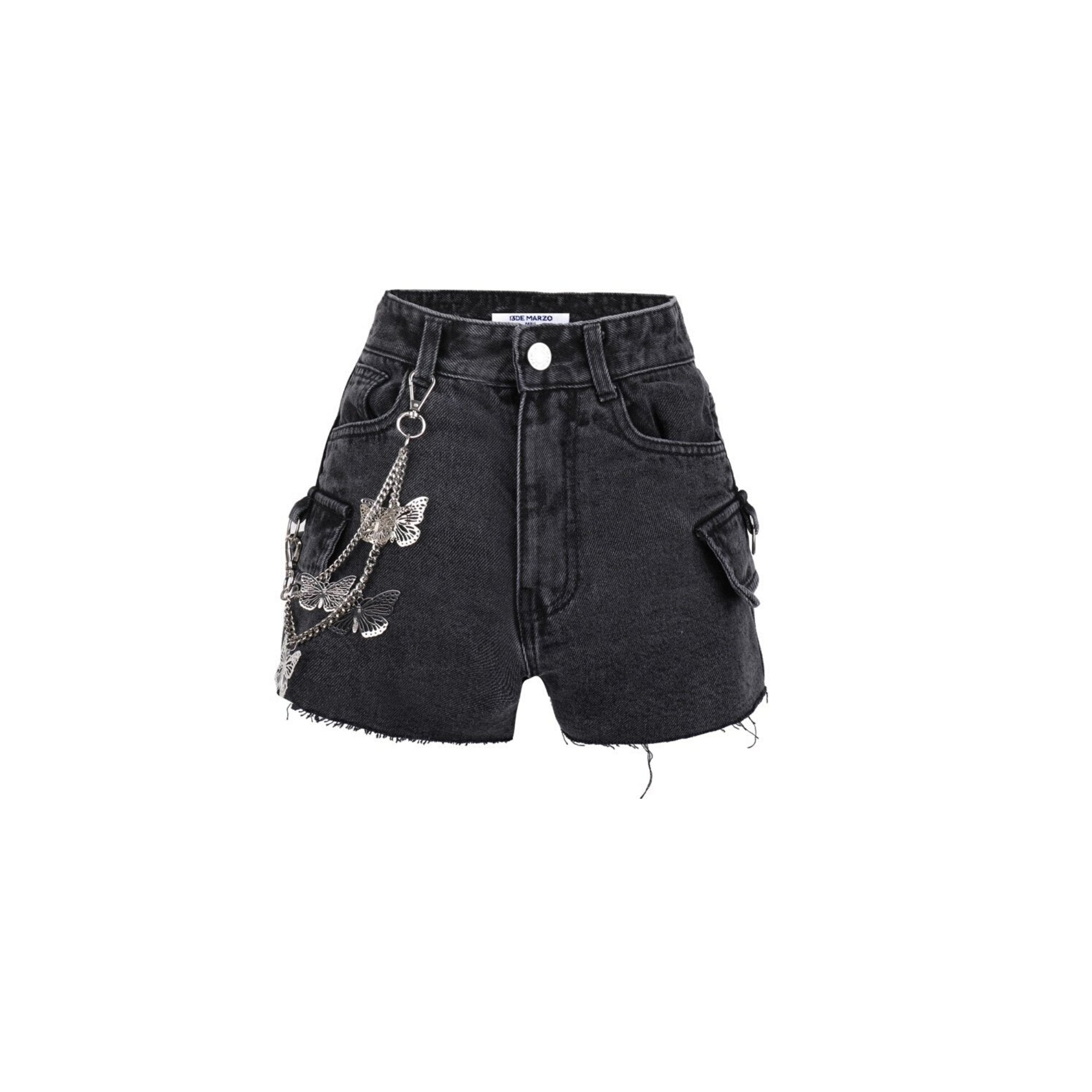 13 DE MARZO Butterfly Chain Shorts | MADA IN CHINA