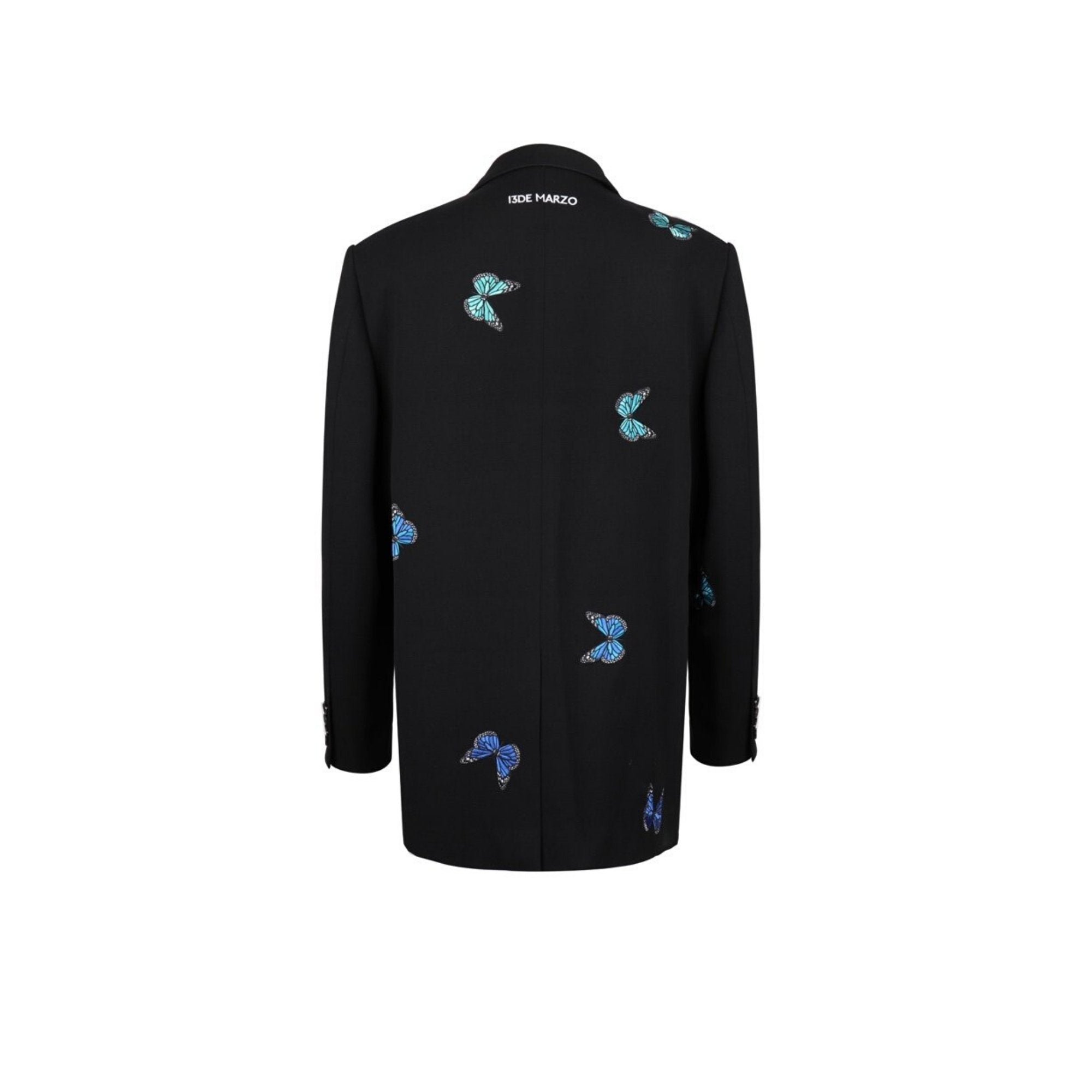 13 DE MARZO Butterfly Embroidered Suit | MADA IN CHINA