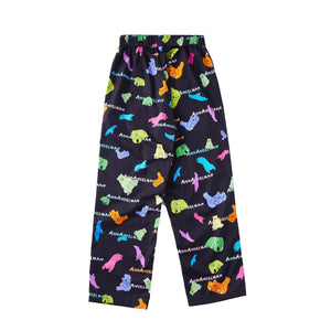 ANN ANDELMAN Cartoon Painting Pants | MADA IN CHINA