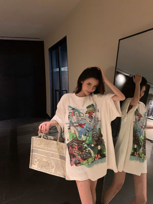 RAINO BARTON Cartoon Tee | MADA IN CHINA