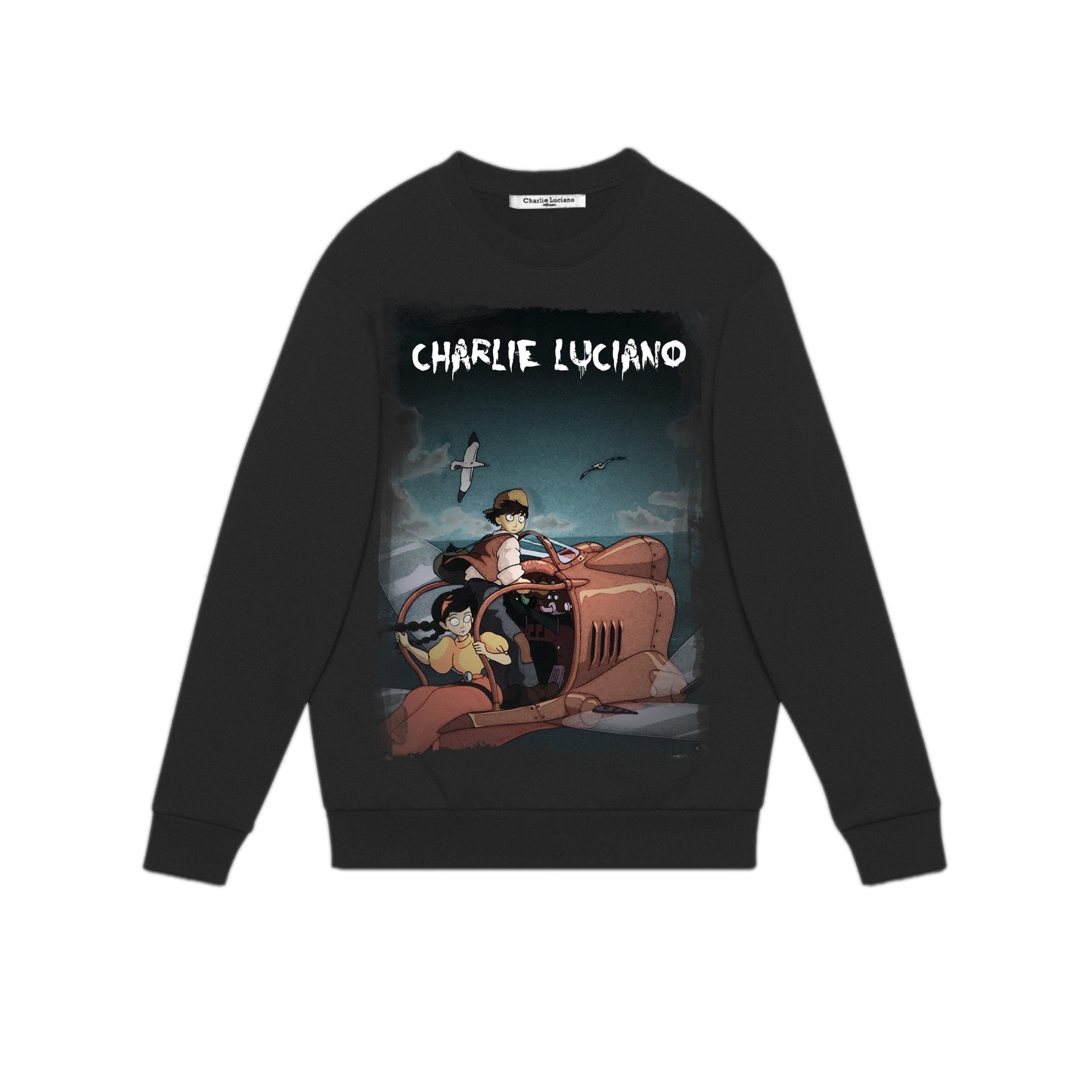 CHARLIE LUCIANO 'Castle In The Sky' Sweatershirt | MADA IN CHINA