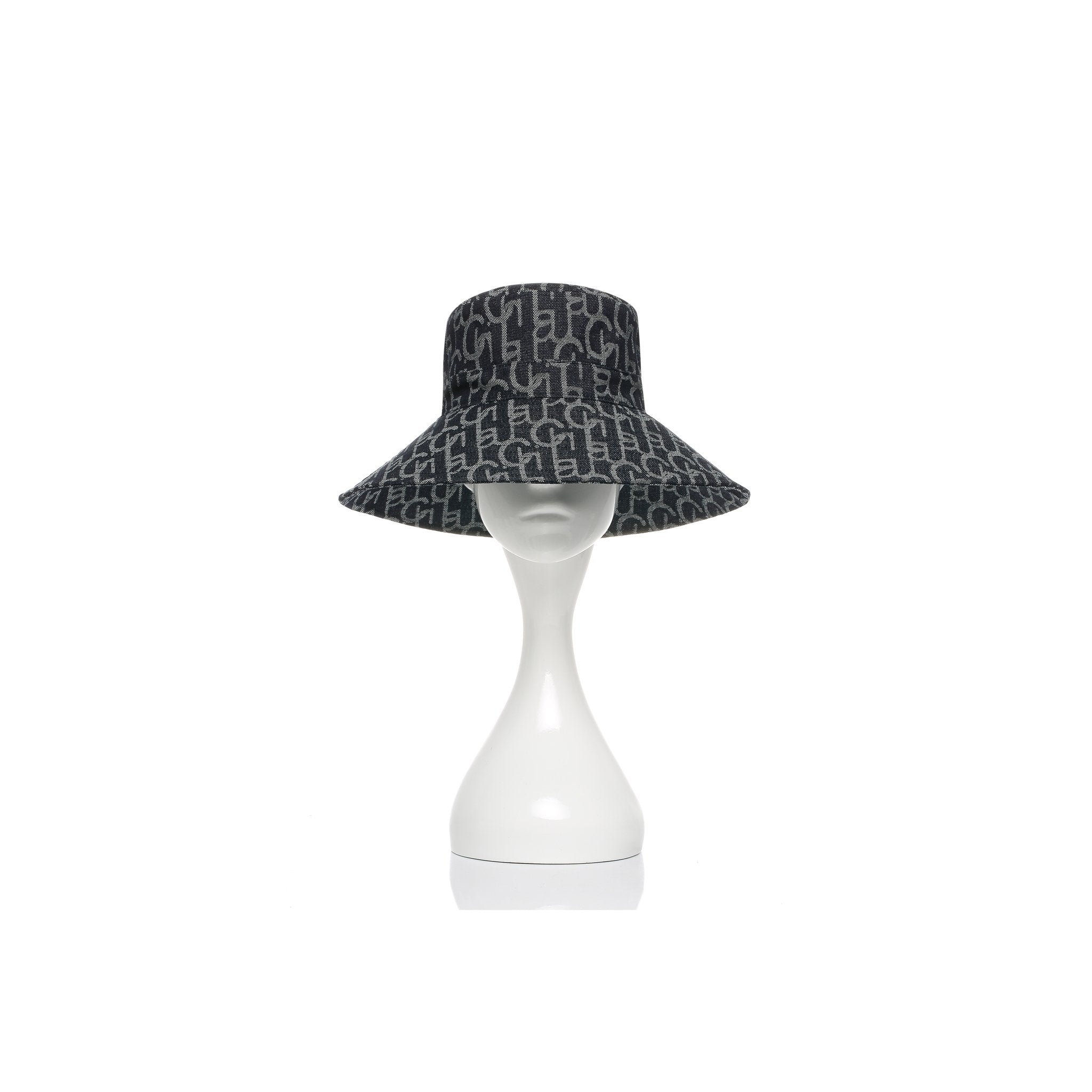 Laurence & Chico Chichi Laulau Denim Bucket Hat | MADA IN CHINA