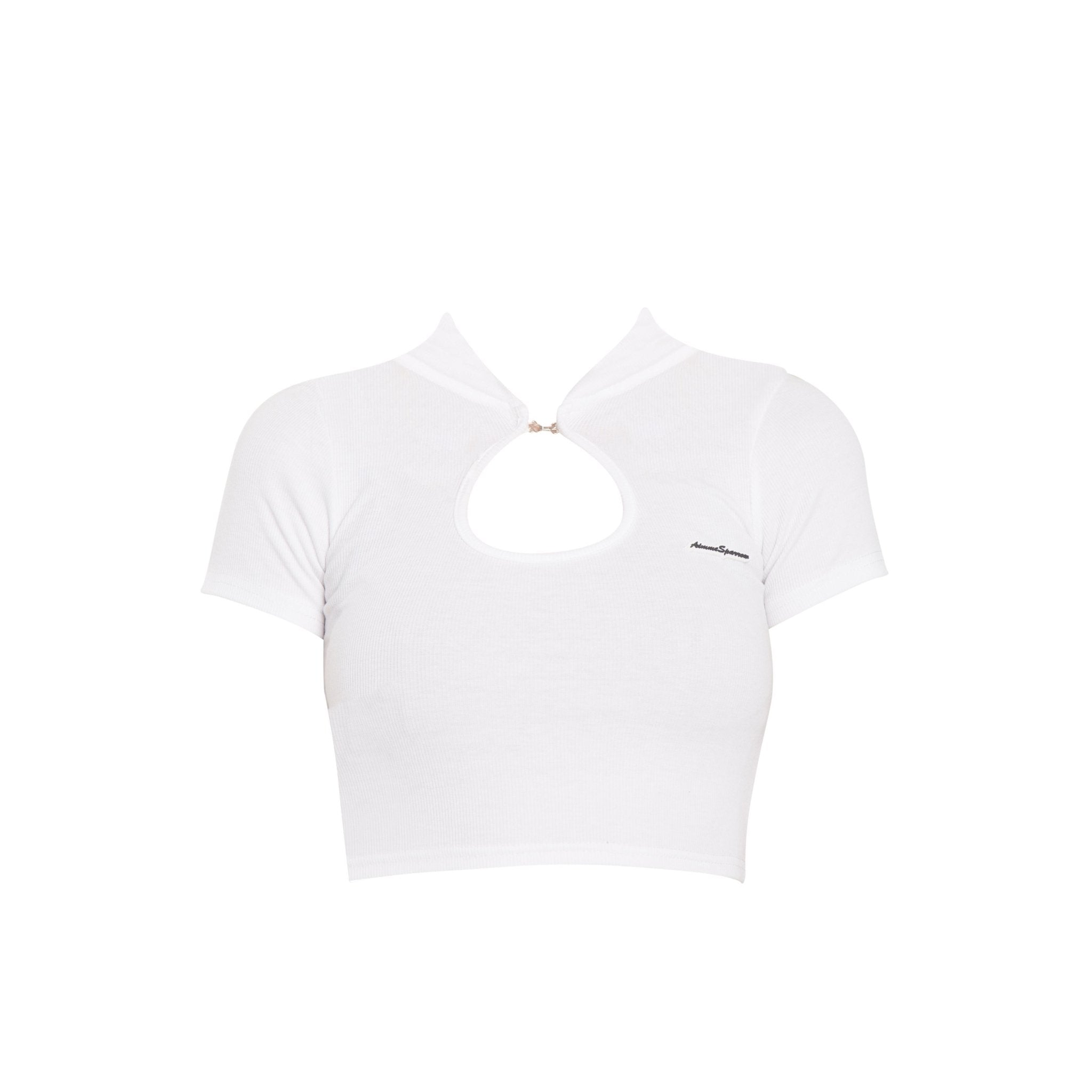 AIMME SPARROW Cinched Cut-Out Tee | MADA IN CHINA