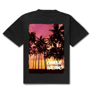 CHARLIE LUCIANO Coconut Palm T-Shirt | MADA IN CHINA