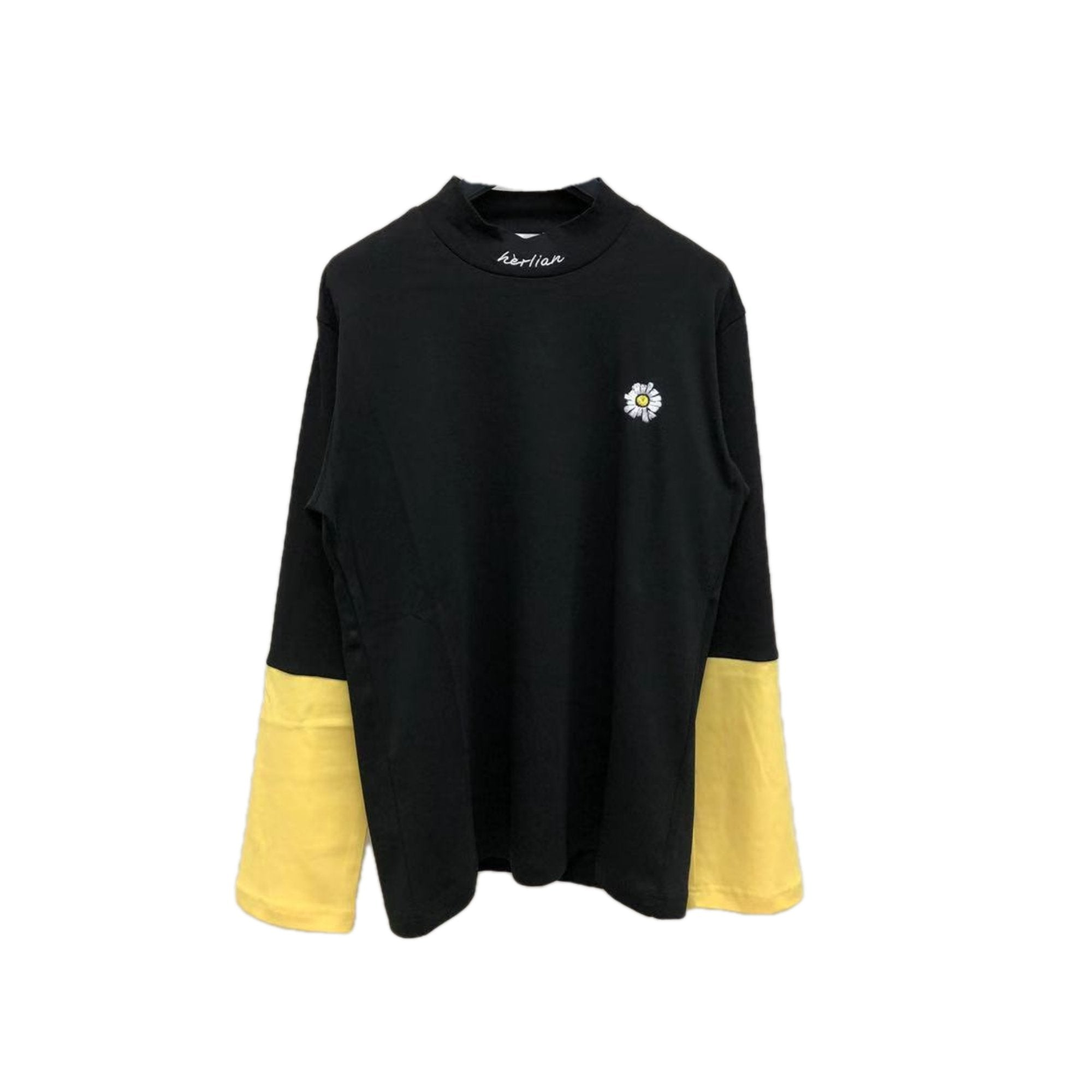 HERLIAN Colorblocked Long-Sleeve Tee | MADA IN CHINA