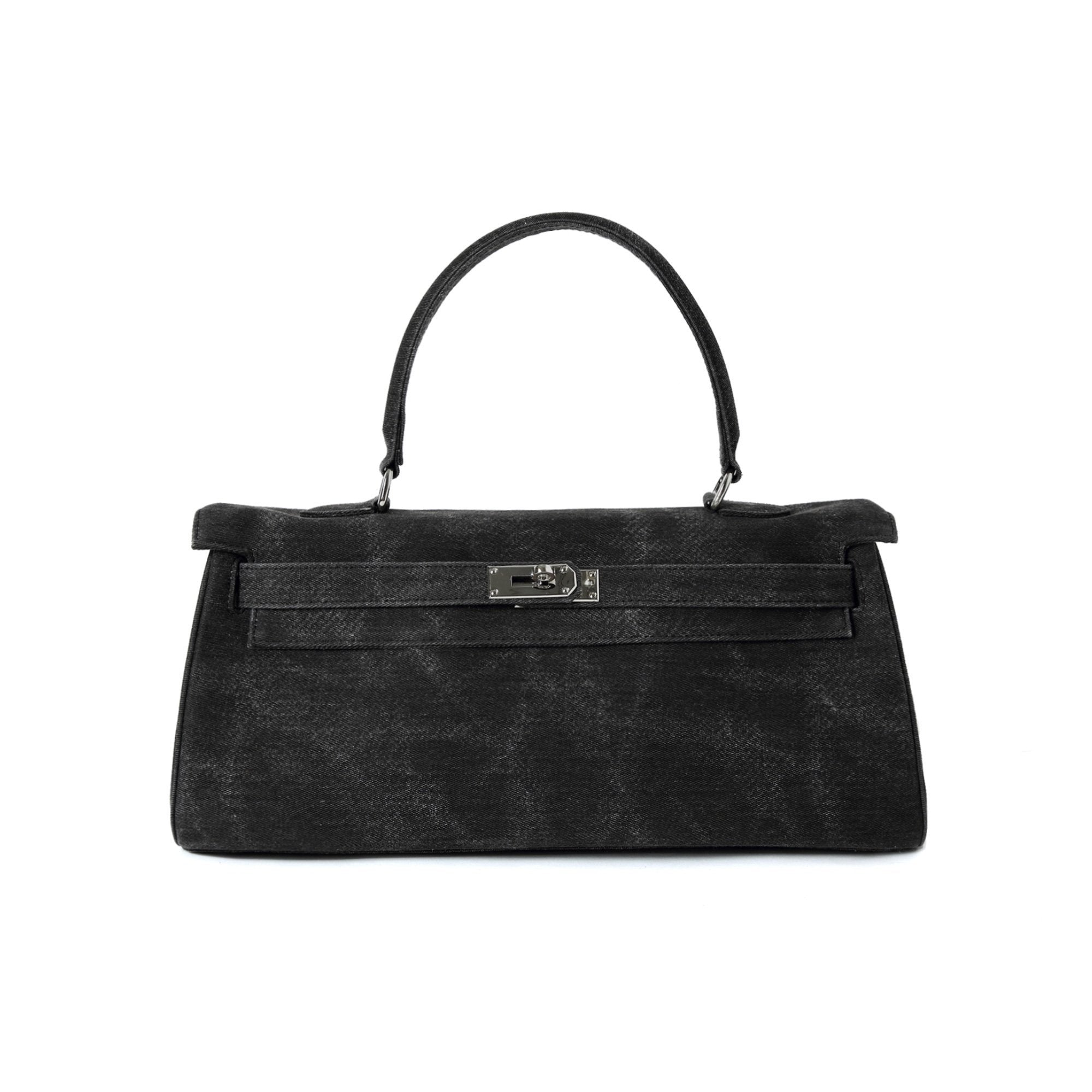 MARGIN GOODS Common Bag Kelly Black | MADA IN CHINA