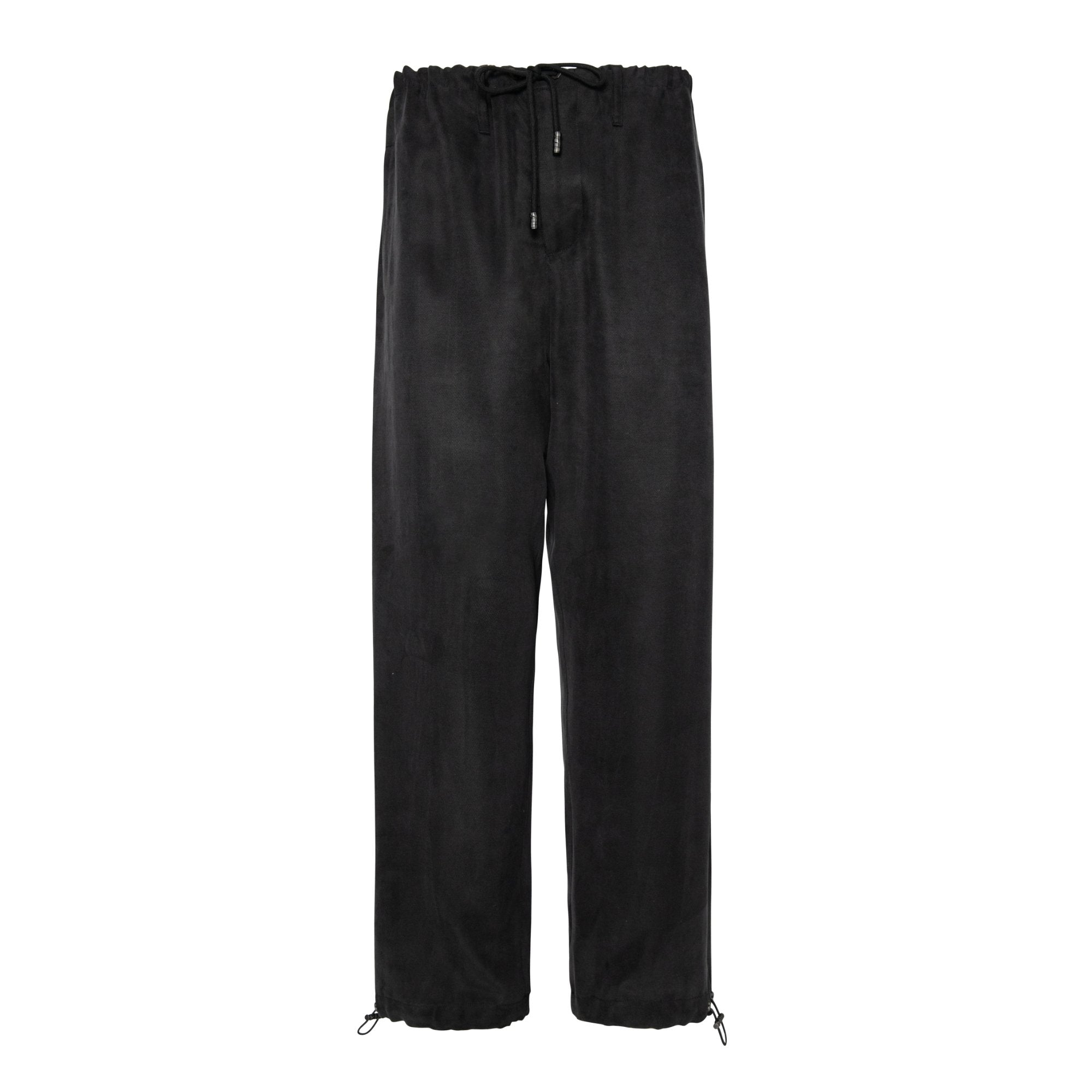 GALLIANO LANDOR Cupro Silhouette Drawstring Trousers | MADA IN CHINA