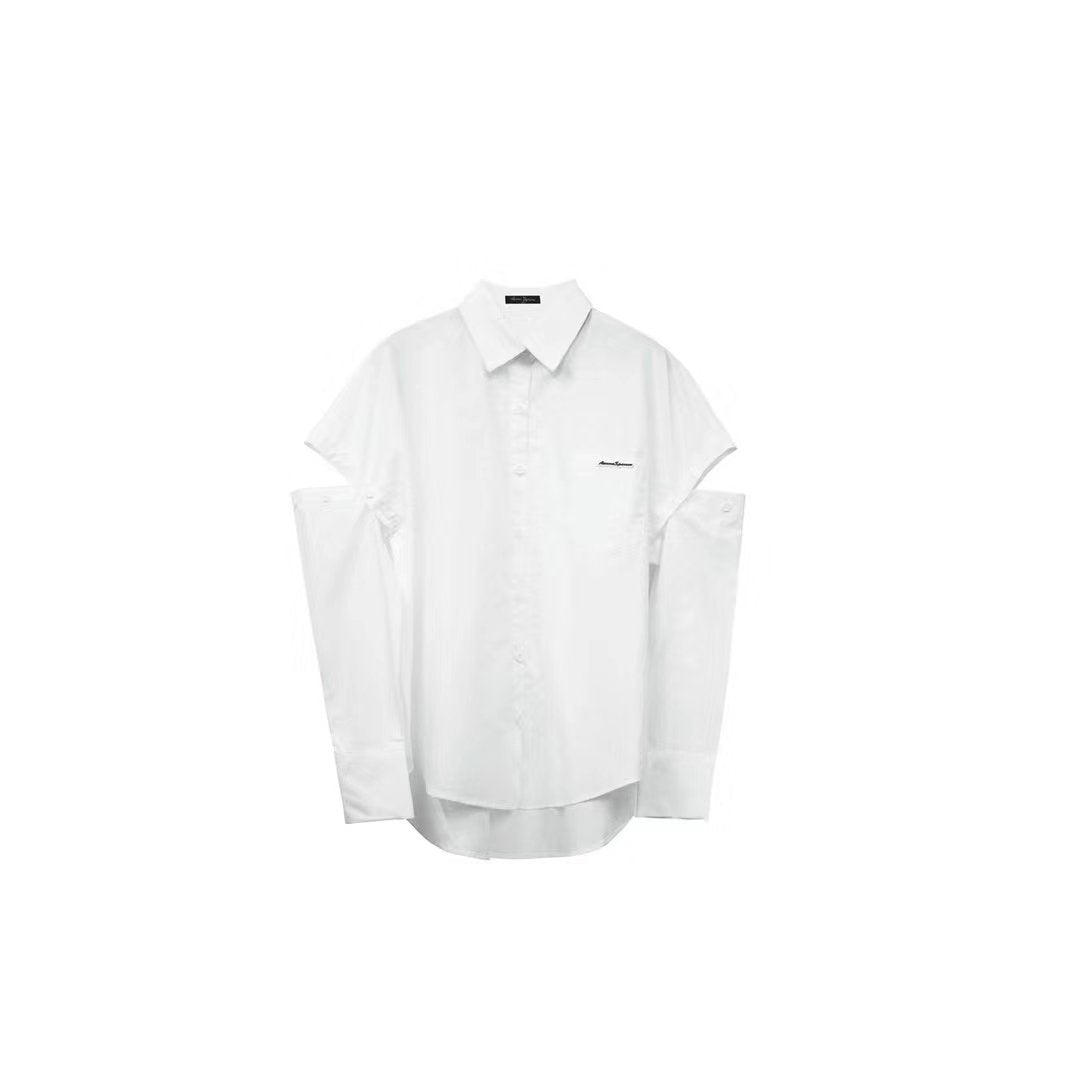 AIMME SPARROW Cut-out Shirt | MADA IN CHINA