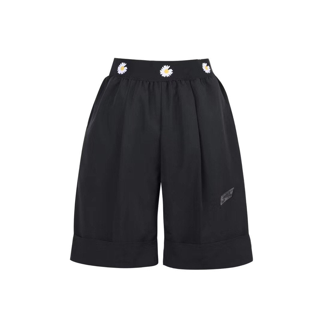 UMBERT MATTEO Daisy Shorts Black | MADA IN CHINA